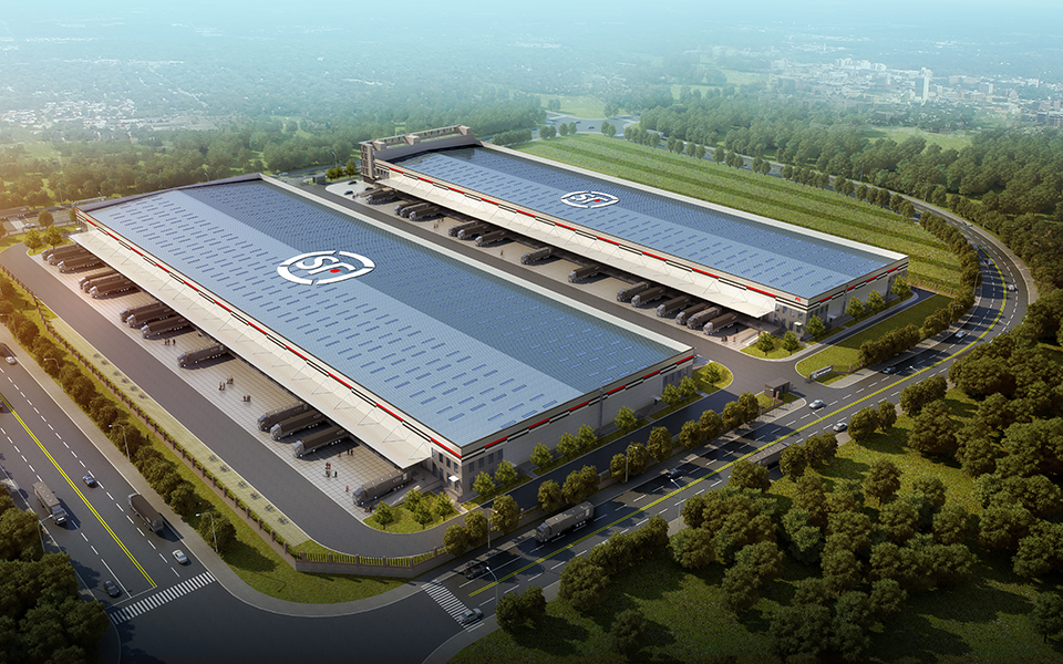 S.F. Express Corporation (Nanning) Innovation Industrial base project